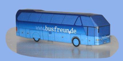 Papier aus bus basteln DIY Diamant